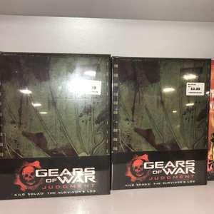 XBOX Gears Of War: Judgement - Kilo Squad: Survivor's Log (Hardcover) £24.99 reduced to 99p @ Forbidden Planet (Instore or + £5.50 P&P)