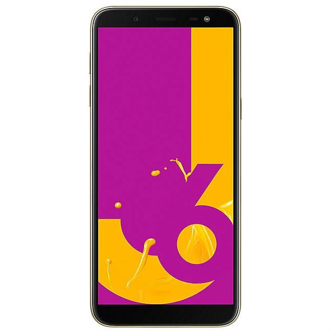Samsung Galaxy J6 (2018) J600G 3GB/32GB Dual Sim SIM FREE/ UNLOCKED - Gold £126.09 @ Toby Deals