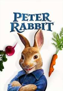 Peter Rabbit HD Digital and Bluray via Sky Store only £8.99