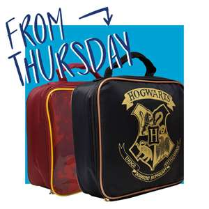 Insulated Harry Potter lunch bags £4.99 @ LIDL from 19/07