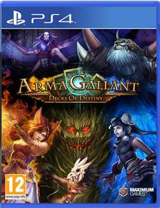 ArmaGallant: Decks of Destiny - £3.99 NEW @ GAME