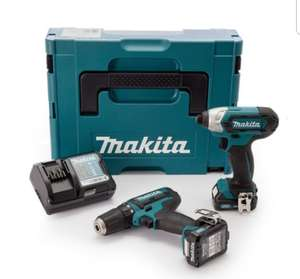 Makita CLX201AJ 10.8V Twin Pack With Drill Driver & Impact £99.99 delivered @  Toolden