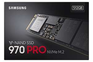 Samsung 970 Pro 512 GB (In stock on August 15, 2018) £188.99 @ Amazon