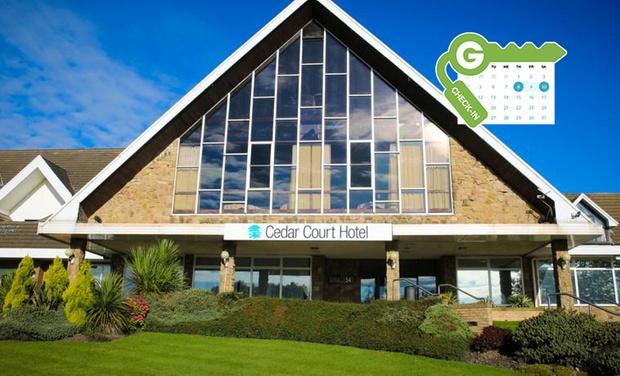 Double room, breakfast, 3 course dinner& leisure facilities £49.50 @ Cedar Court Huddersfield(Groupon)
