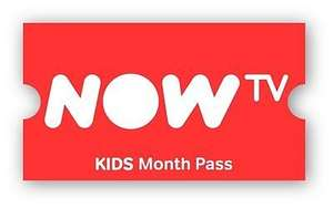 4 months Now TV Kids Pass £10 instore @ GAME