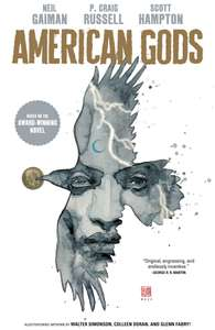 American Gods Vol.1:  Digital Comic Collection (9 issues, 267 pages) - £2.49 @ Comixology