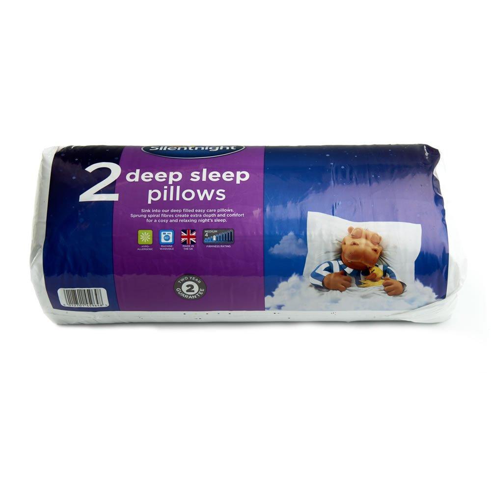 Silentnight Deep Sleep Pillow 2pk £8 Wilko - free c&c