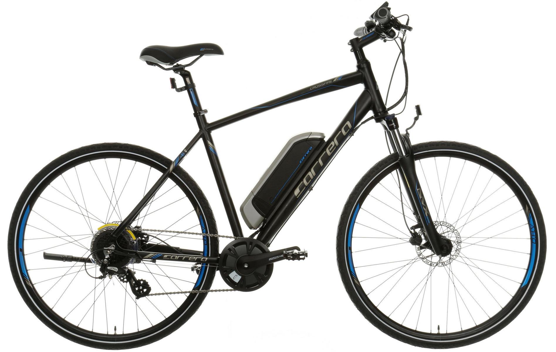 Carrera Crossfire E Electric Hybrid Bike (Mens & Womens frames) £1000 Halfords