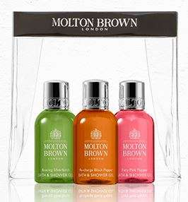 Complimentary Travel Set (3 x 50ml) when you spend £40 or get (6 x 50ml) when you spend £70 @ Milton Brown