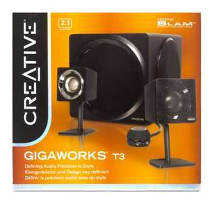 Creative GigaWorks T3 (2.1) Speaker System £72.16 @ Amazon
