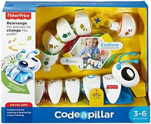 Fisher-Price DKT39 Think and Learn Code-a-Pillar £19.99 Prime / £24.48 Non Prime @ amazon