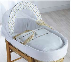Extra 25% off at basket on 69 baby items inc twin buggies, moses baskets, toys & bottles eg Adventurer moses basket was £26.45 now £19.84 more in op @ George Asda