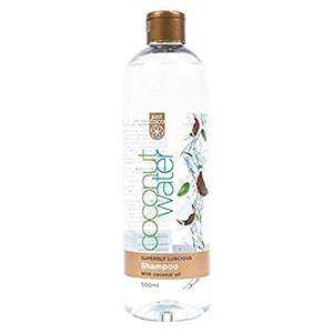 Just Coco Coconut Water Superbly Luscious Shampoo With Coconut Oil 500ml - 28p at Lidl