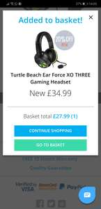 Turtle Beach XO three headset @ 27.99 plus free delivery (New) @ Music Magpie