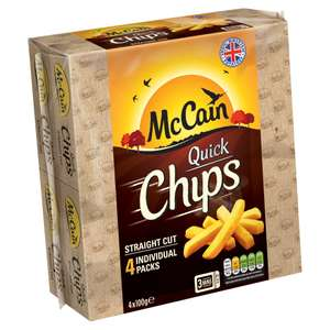 McCain's Micro Chips Straight or crinkle Cut £1 @ Iceland