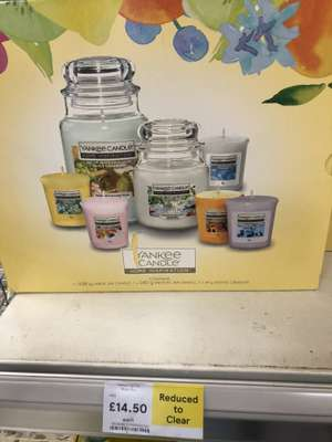 Yankee Candles Home Inspirations 7 Candles In Store @ Tesco Colney Hatch - £14.50