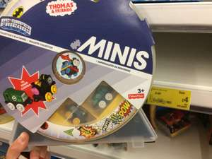 Thomas & Friends Minis DC Super Friends Carry Case with two mini engines £4 @ Asda