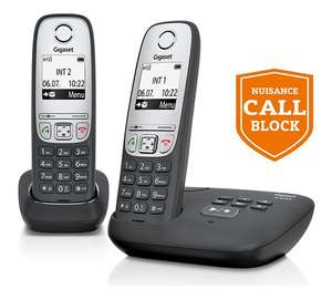 Gigaset A455A Cordless Telephone with Answer Machine - Twin £34.99 @ Argos (free C&C)