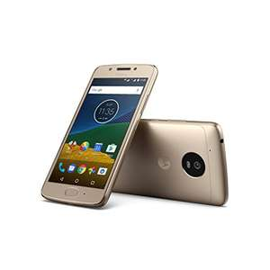 Motorola Moto G5  - (5 '' Full HD, 4G, 13 MP Camera, 3 GB RAM, 16 GB, Qualcomm Snapdragon 1.4 GHz), Gold Color £92.31 including delivery @ Sold and sent by Amazon Spain - £89.21