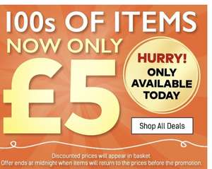 Tons of items £5 till midnight at ace.com (+£4.99 P&P)