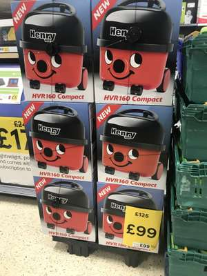 Henry 160 compact cleaner £99 instore @ Tesco