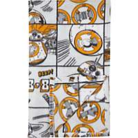 1\2 Price : Star Wars BB-8 supersoft 120 X 150 cms fleece blanket @ Asda C+C