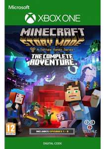 Minecraft Story Mode Complete Adventure £2.99 / £2.84 with fb code @ Cdkeys