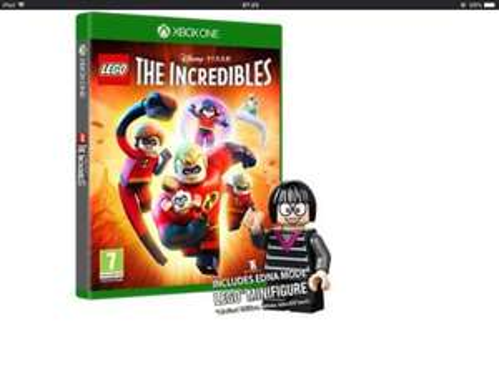 Lego The Incredibles Xbox One Inc Edna  Mini Figurine Xbox One and PS4  shopto eBay - £29.85