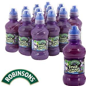 Robinsons Apple and Blackcurrant Fruit shoot case of 12 for £2.99 @ Home Bargains