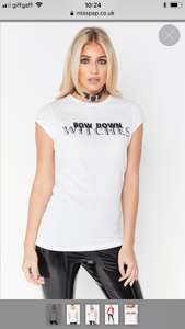 Misspap 70% off sale, tshirts from £1 hats 50p free delivery orders over £40