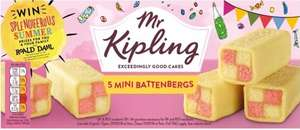 Mr Kipling 5 Mini Battenbergs Reduced to 39p @ Iceland