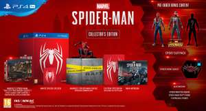 Spiderman PS4 Collector's Edition available for pre-order £129.99 @ GAME