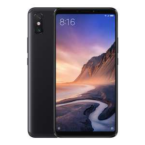 Xiaomi Mi Max 3 6.9 Inch 4G LTE Smartphone Snapdragon 636 6GB 128GB 12.0MP+5.0MP Dual Rear Cameras Android 8.1 5500mAh Type-C OTG Touch ID - Black £268.81 at  geekbuying