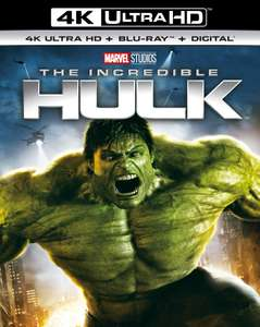 The Incredible Hulk 4K £9.99 with any purchase online or for Pure HMV members in-store.