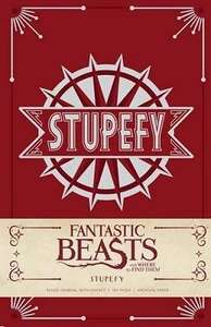 Fantastic Beasts and Where to Find Them: Stupefy Hardback Journal (was £13) Now £3.25 + Upto 75% Off Stationery + Gift Clearance + Free C&C at Waterstones