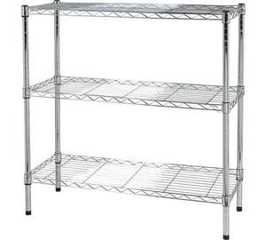 Heavy Duty 3 Tier Metal Unit was £44.99 now £18.99 @ Argos