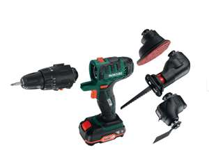 Parkside 20V 4-in-1 Cordless Combination-Tool £59.99 in LIDL from Thursday (possibly £54.99 with voucher)