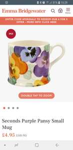 Upto 70% off sale across range of Emma Bridgewater products