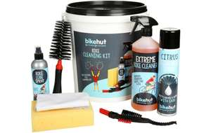Complete bike cleaning kit now £15 @ Halfords