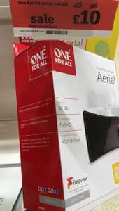 One for All Amplified Indoor Aerial, instore £10 @ Sainsburys