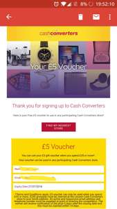 £5 off £35 spend @ Cash Converters