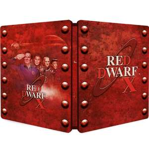 Red Dwarf X - Zavvi Exclusive Limited Edition Steelbook Blu-ray (Limited to 2000 Copies) £6.99 delivered
