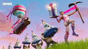 Fortnite's 1st Birthday – free 5000xp and back bling and more