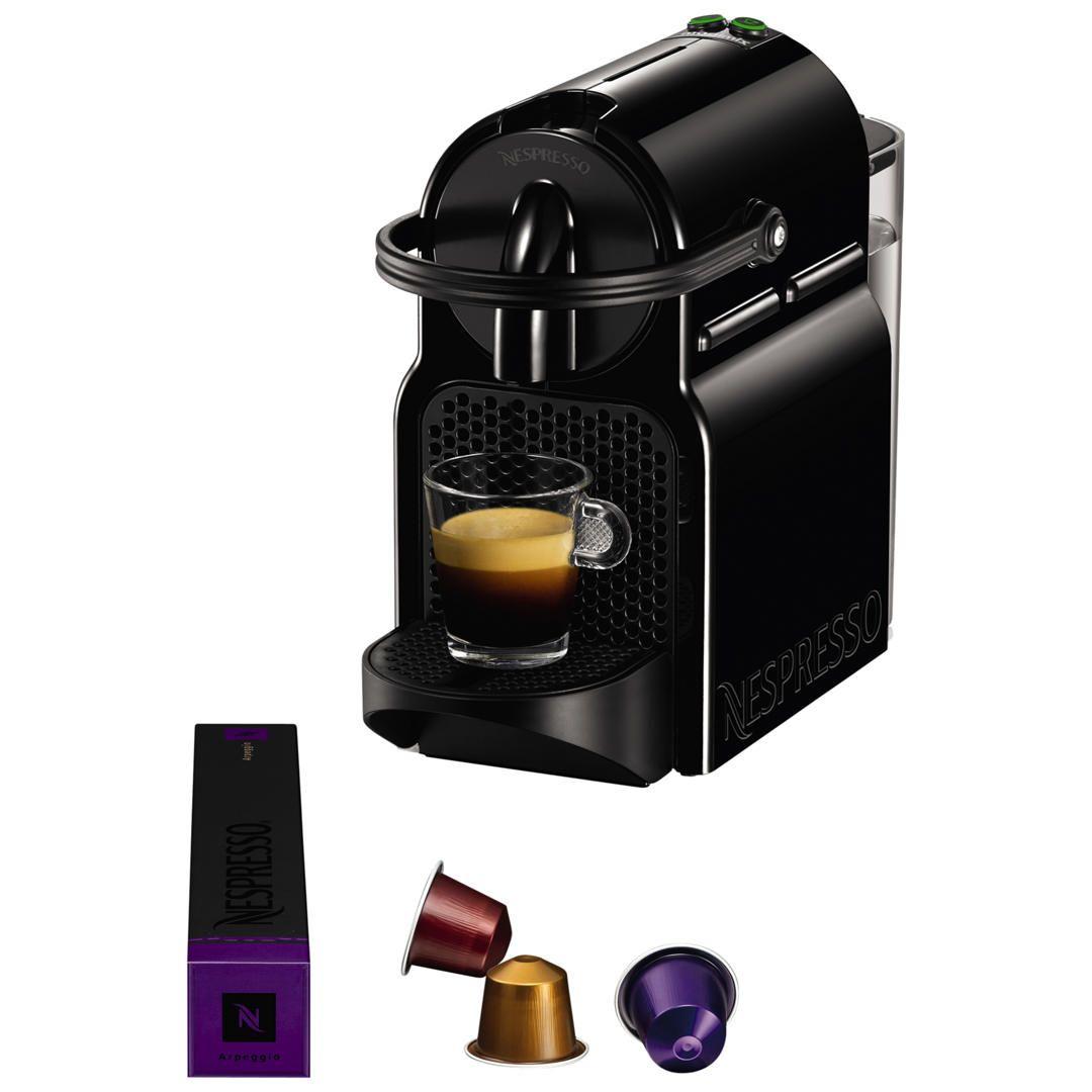 Nespresso Inissia Coffee Machine by Magimix & claim free aerochino milk frother @John Lewis – £44 (free C&C)