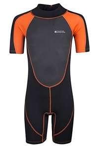 Mountain Warehouse Junior Shorty Wetsuit @ Amazon - £13.59 Sold and Despatched by Mountain Warehouse