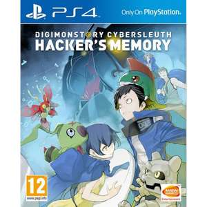 Digimon Story: Cybersleuth Hacker's Memory PS4  £15.95@ The Game Collection