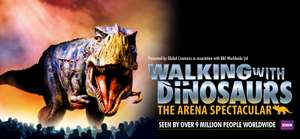Walking with Dinosaurs 50% off Tickets at the O2 prices start at £16.25 @ Ticketmaster