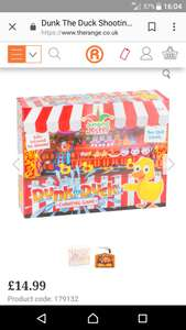 Dunk the duck game £14.99 @ the range / national