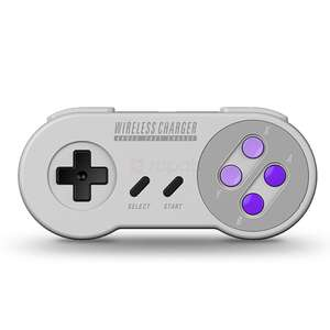 Aknes Snes Pad Style Wireless Phone Charging Pad £7.60 Del @ Zapals