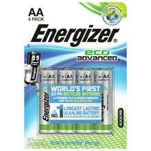 Argos - Energizer Eco Advanced AA & AAA Batteries - Pack of 4 BOGOFF £3.99